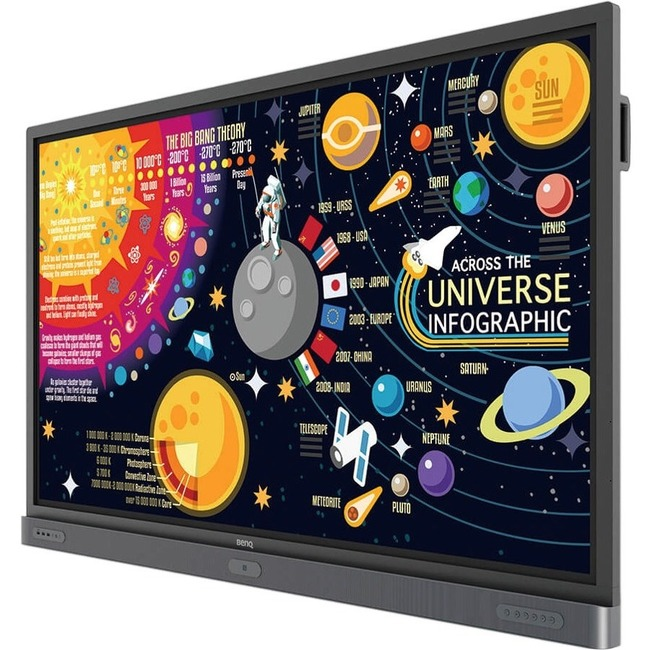 "BenQ Education RP6501K 65"" LCD Touchscreen Monitor - 16:9 - 8 ms"