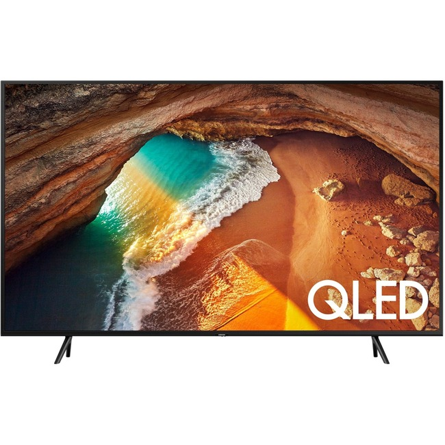 "Samsung Q60R QN82Q60RAF 81.5"" Smart LED-LCD TV - 4K UHDTV - Charcoal Black"