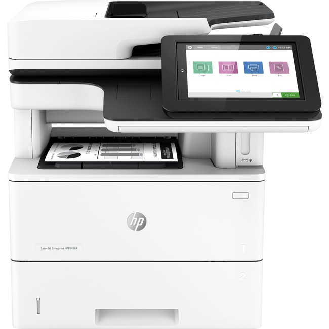 HP LaserJet Enterprise M528 M528f Laser Multifunction Printer - Monochrome