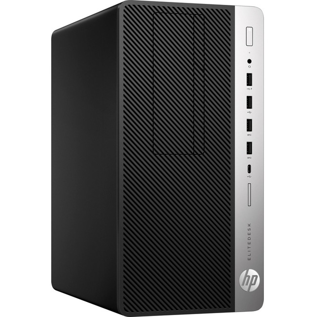 HP EliteDesk 705 G4 Desktop Computer - Ryzen 5 PRO 2600 - 16 GB RAM - 512 GB SSD - Micro Tower