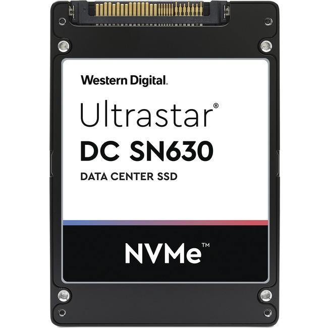 "WD Ultrastar DC SN630 WUS3BA138C7P3E3 3.84 TB Solid State Drive - 2.5"" Internal - U.2 (SFF-8639) NVMe (PCI Express 3.0 x"