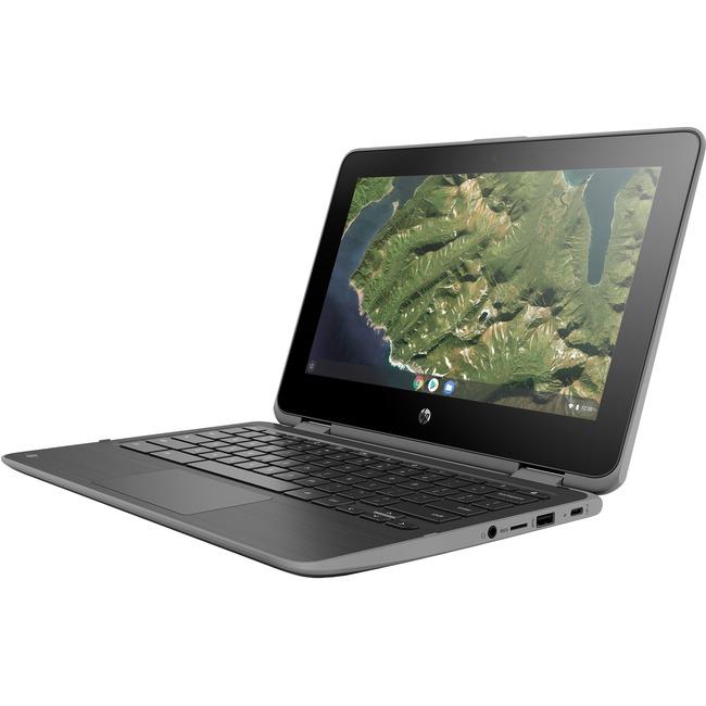 "HP Chromebook x360 11 G2 EE 11.6"" Touchscreen 2 in 1 Chromebook - 1366 x 768 - Celeron N4000 - 4 GB RAM - 32 GB Flash Me"