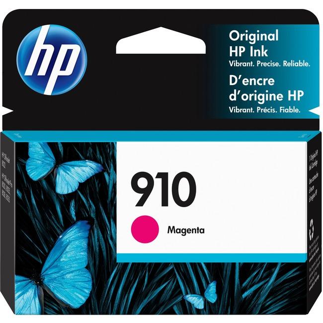 Image of HP 910 Ink Cartridge - Magenta (3YL59AN#140)
