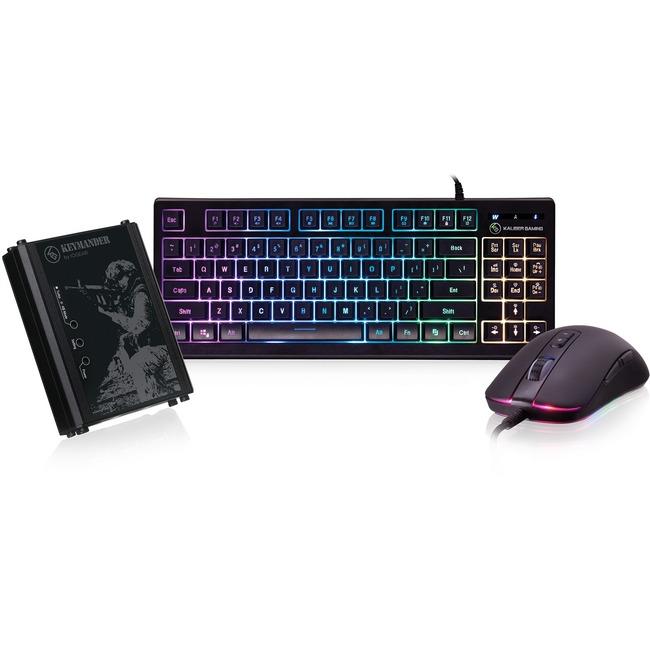 IOGEAR KeyMander KORE Keyboard & Mouse Kit