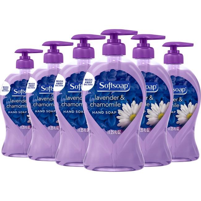 Softsoap Lavender Hand Soap 6/Carton