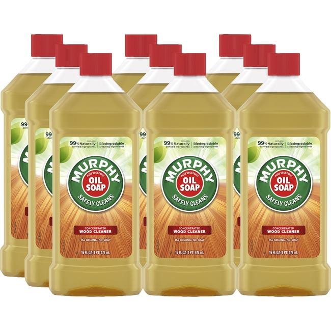 Murphy Oil Soap Wood Cleaner 9/Carton