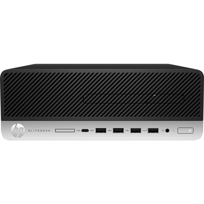 HP EliteDesk 705 G4 Desktop Computer - Ryzen 5 PRO 2400G - 16 GB RAM - 512 GB SSD - Small Form Factor