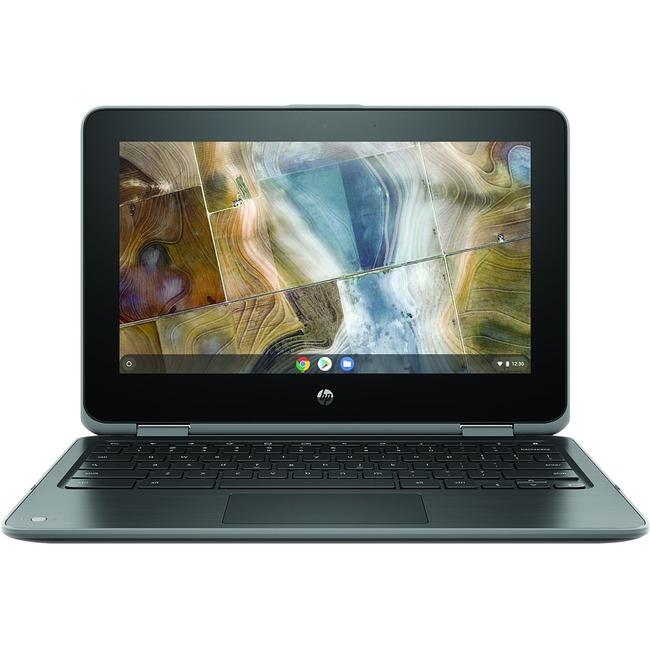 "HP Chromebook x360 11 G2 EE 11.6"" Touchscreen 2 in 1 Chromebook - 1366 x 768 - Celeron N4100 - 4 GB RAM - 32 GB Flash Me"