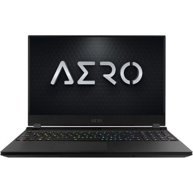 "Gigabyte AERO 15 AERO 15 SA-7US2130SH 15.6"" Gaming Notebook - 1920 x 1080 - Core i7 i7-9750H - 16 GB RAM - 512 GB SSD"