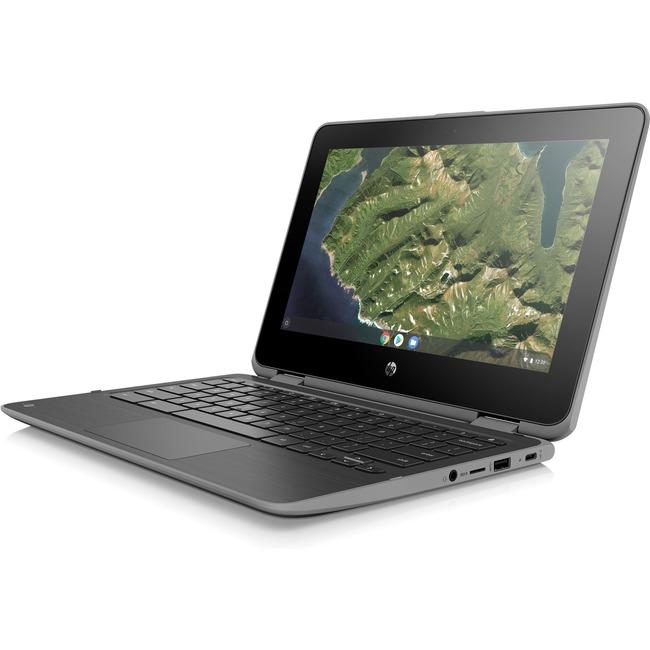 "HP Chromebook x360 11 G2 EE 11.6"" Touchscreen 2 in 1 Chromebook - 1366 x 768 - Celeron N4000 - 8 GB RAM - 64 GB Flash Me"