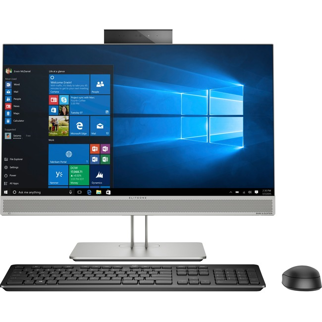 "HP EliteOne 800 G5 All-in-One Computer - Core i5 i5-9500 - 8 GB RAM - 256 GB SSD - 23.8"" 1920 x 1080 - Desktop"