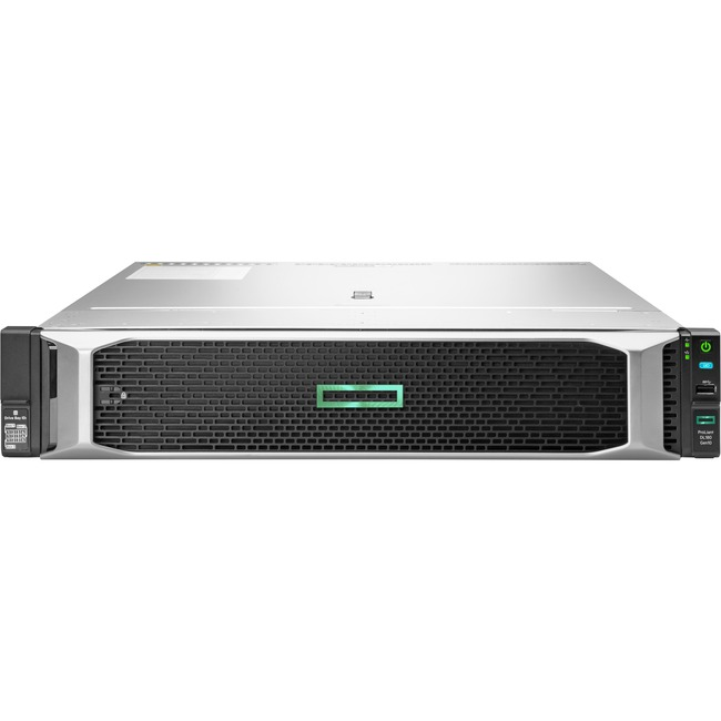 HPE ProLiant DL180 G10 2U Rack Server - 1 x Xeon Silver 4208 - 16 GB RAM HDD SSD - Serial ATA/600 Controller