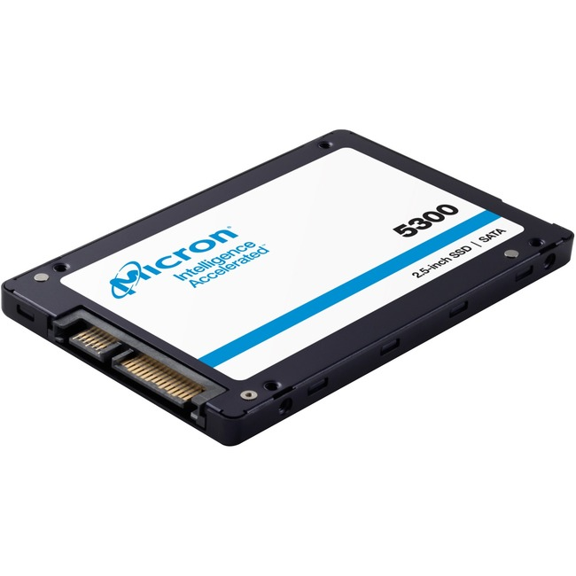 "Micron 5300 5300 PRO 960 GB Solid State Drive - 2.5"" Internal - SATA (SATA/600) - Read Intensive"