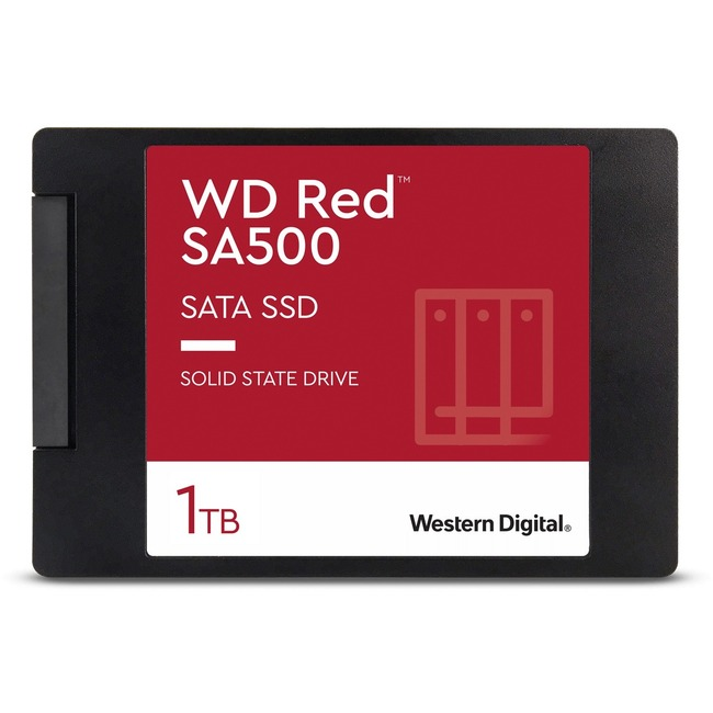 WD Red SA500 1TB SATAIII Read: 560MB/s; Write: 530MB/s Solid State Drive (WDS100T1R0A )