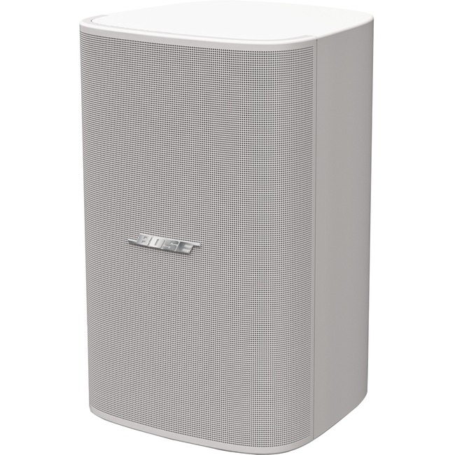 Bose DesignMax DM8S 2-way Indoor Surface Mount, Wall Mountable, Ceiling Mountable Speaker - 150 W RMS - Arctic White