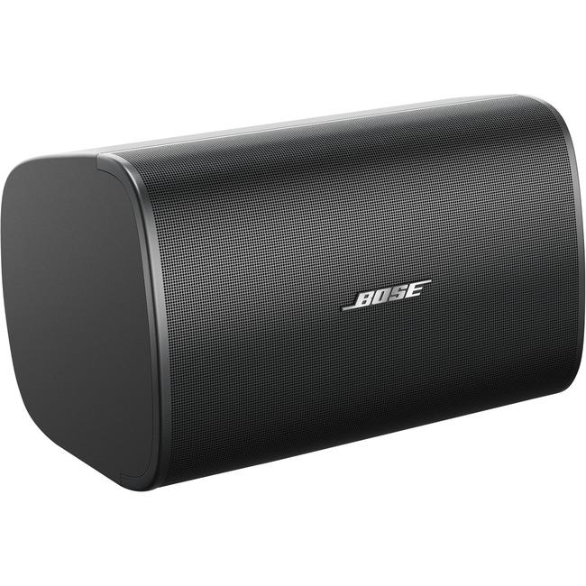 Bose DesignMax DM8S 2-way Indoor Surface Mount, Wall Mountable, Ceiling Mountable Speaker - 150 W RMS - Jet Black