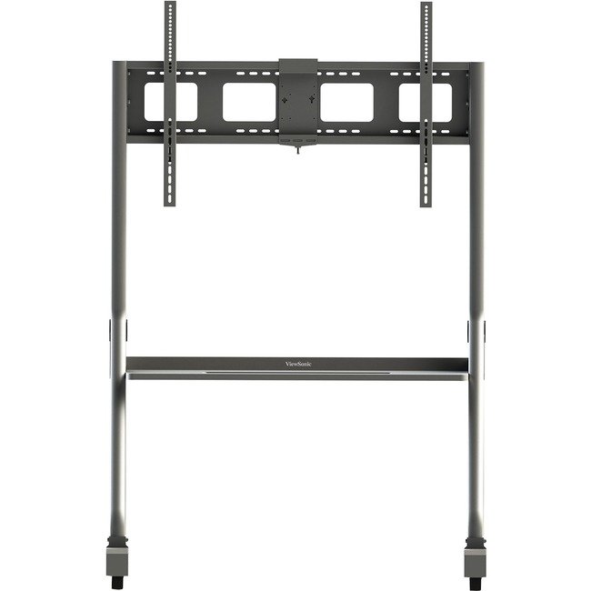 Featuring a convenient storage tray and an included mounting bracket, the VB-STND-001 is a mobile trolley cart ideal for ViewSonic commercial displays, and ViewBoard interactive flat panel displays.