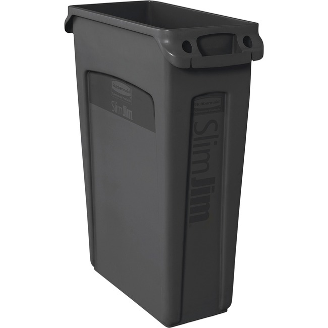 Rubbermaid Commercial Slim Jim Vented Container