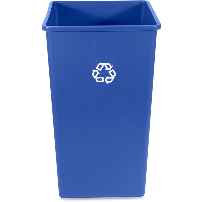 Rubbermaid Commercial 50-Gallon Square Recycling Container