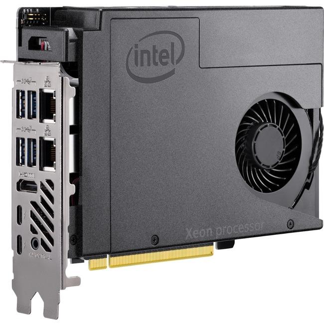 Intel NUC 9 Pro Compute Element - NUC9VXQNB - Intel - Xeon - E-2286M - Octa-core (8 Core) - 2.40 GHz - DDR4 SDRAM - Intel - UHD Graphics P630 - Wireless LAN - Bluetooth - HDMI - 10 x Number of USB Ports - 2 x Number of USB 2.0 Ports