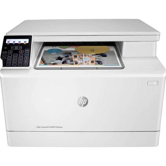 HP LaserJet Pro M182nw Laser Multifunction Printer - Color