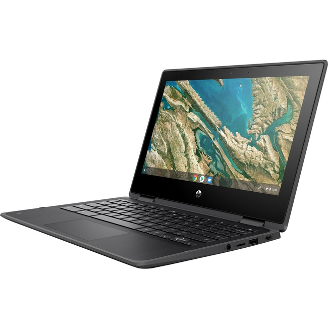 "HP Chromebook x360 11 G3 EE 11.6"" Touchscreen 2 in 1 Chromebook - 1366 x 768 - Celeron N4020 - 4 GB RAM - 32 GB Flash Me"