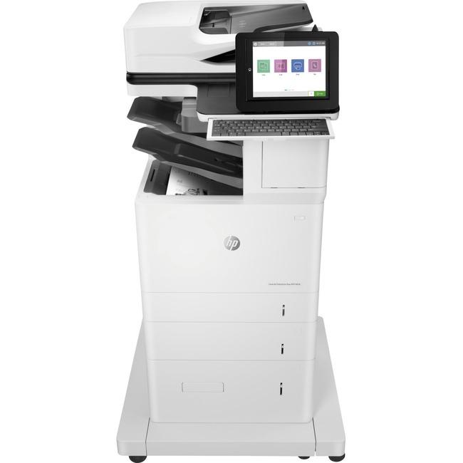 HP LaserJet Enterprise M636z Laser Multifunction Printer - Monochrome