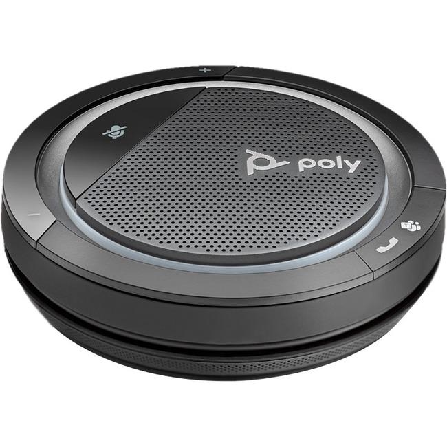 Plantronics Personal, Portable Bluetooth Speakerphone with 360° Audio - USB - Microphone - Battery - Desktop