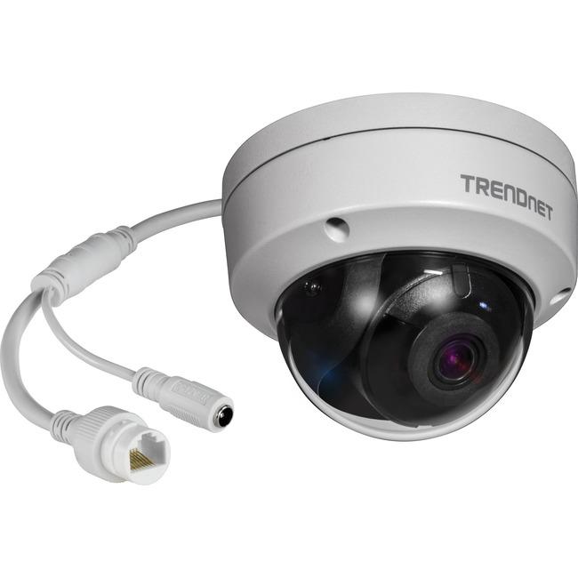 TRENDnet (TV-IP1319PI) Dome 8 Megapixel Network Camera - 98.43 ft (30000 mm) Night Vision - H.265, H.265+, H.264, H.264+, MJPEG - 3840 x 2160 - CMOS