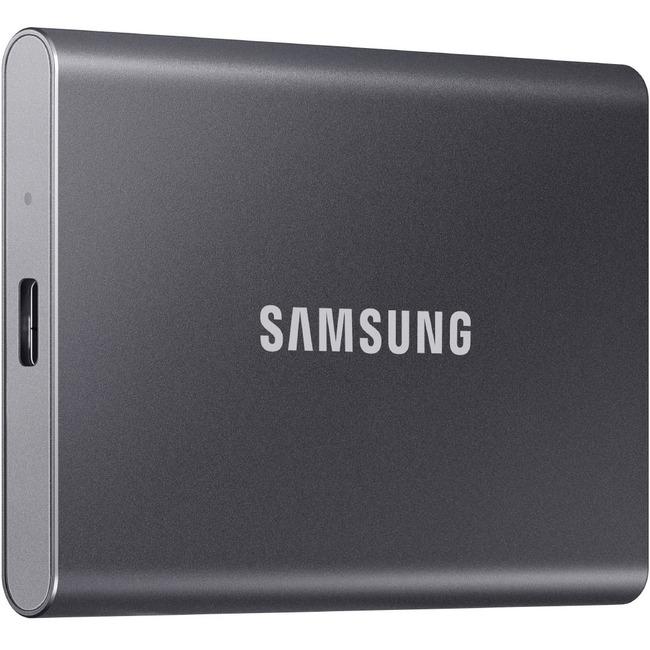 SAMSUNG T7 1TB USB3.2  Grey External Solid State Drive (MU-PC1T0T/AM)