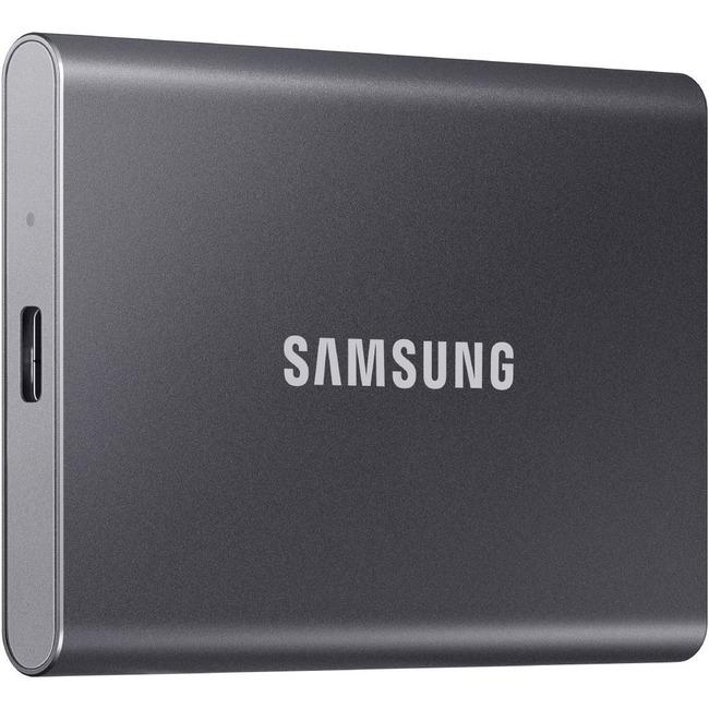 SAMSUNG T7 500GB USB3.2  Grey External Solid State Drive (MU-PC500T/AM)
