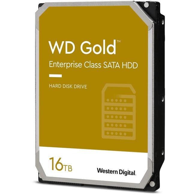 WD Gold 16TB HDD 7200rpm 6Gb/s sATA 512MB cache 8,9cm 3,5Zoll intern RoHS compliant Enterprise Bulk