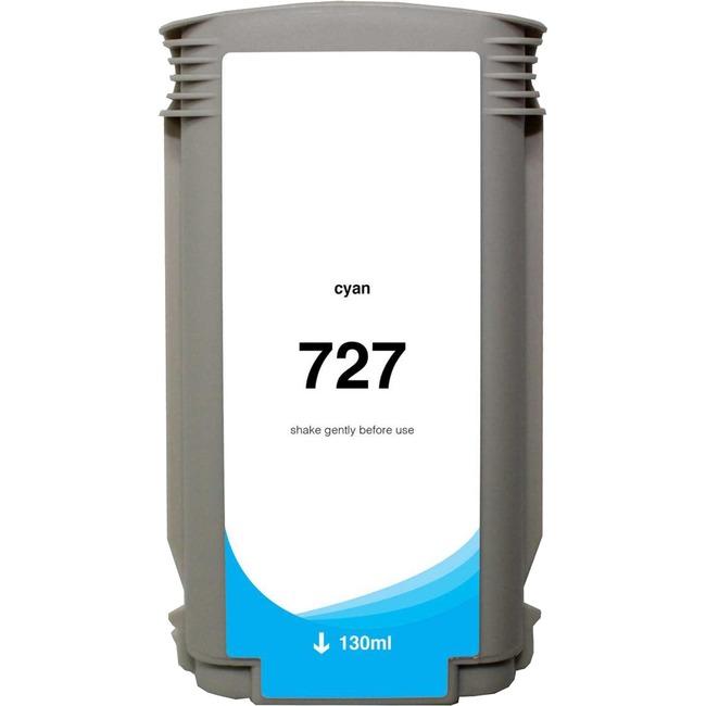 Clover Technologies Ink Cartridge - Alternative for HP 727 - Cyan
