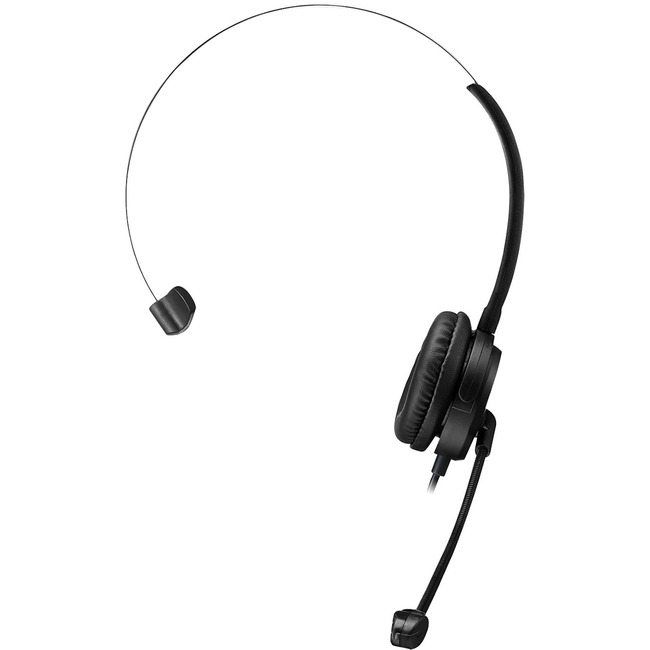 ADESSO SINGLE-SIDE USB HEADSETSTEREO SOUND WITH ADUSTABLE MICROPHONE NOISE