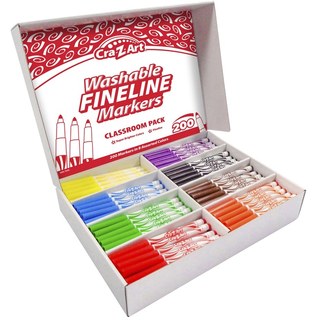 Cra-Z-Art Washable Markers Classroom Pack