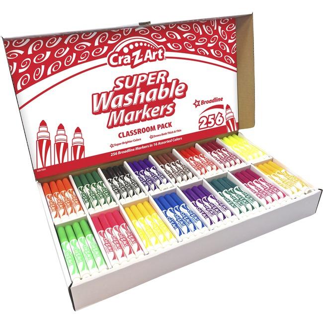 Cra-Z-Art Super Washable Broadline Markers Pack