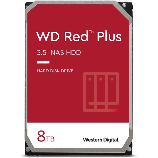 8TB 5400RPM 3.5 WD RED PLUS SATA