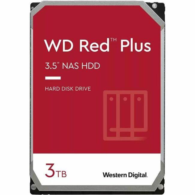 3TB 5400RPM 3.5 WD RED PLUS SATA