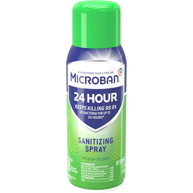 Microban Professional Microban 24 Hour Sanitizing Spray 6/Carton