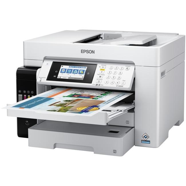 Epson WorkForce ST-C8090 Wireless Inkjet Multifunction Printer - Color