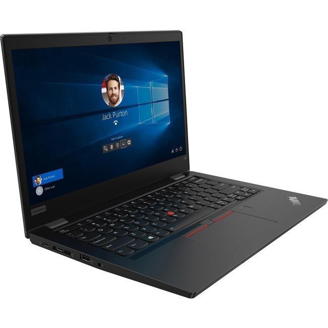 "Lenovo ThinkPad L13 Gen 2 21AB001MUS 13.3"" Notebook - Full HD - 1920 x 1080 - AMD 5400U Quad-core (4 Core) 2.60 GHz - 8"