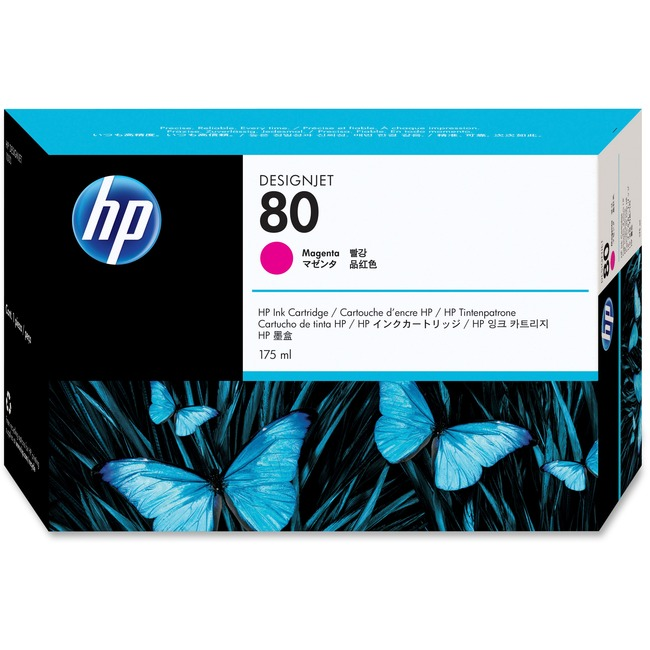 HP No. 80 Magenta 2200 Page Ink Cartridge
