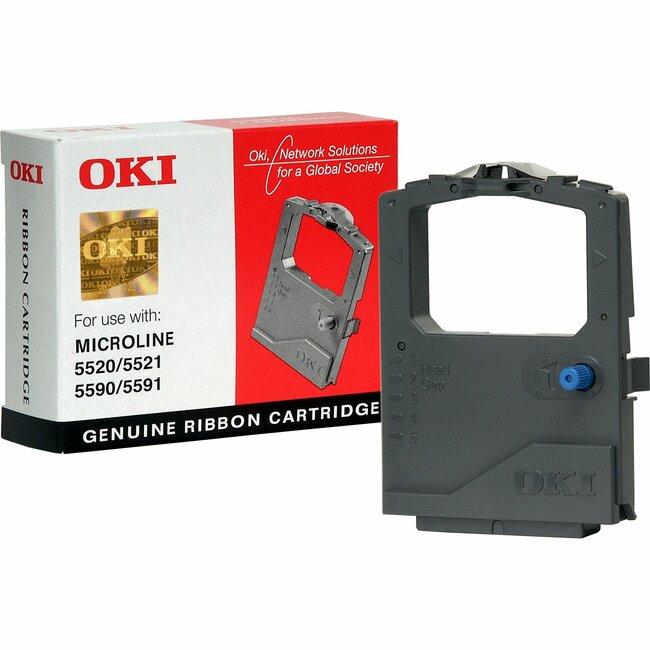 Oki 01126301 Ribbon Cartridge - Black