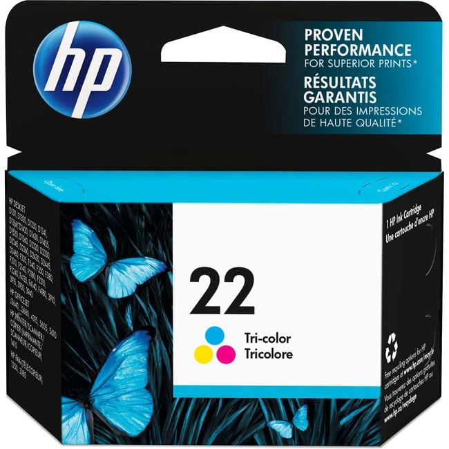 HP Inc 22 Ink Cartridge C9352AN#140 - Large