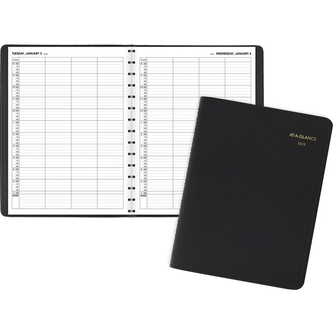 At-A-Glance 4-Person Group Daily Appointment Book