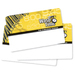 Wasp 50 Barcode Badges, Sequence 1-50 - Bar Code Card - 50 - Pack