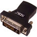SIIG HDMI(F) to DVI(M) Adapter - 1 x HDMI Female Digital Audio/Video - 1 x DVI Male Video - Black