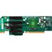 Supermicro RSC-R2UU-A4E8 Left Slot Riser Card - 4 x PCI Express x8 Universal I/O