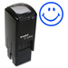 "Trodat Self Inking Stamp - Design Stamp - ""Smiling Face"" - Blue - 1 Each"