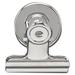 "Acco Magnetic Bulldog Clip - 1.50"" (38.10 mm) Width - 24 / Box - Silver - Metal"